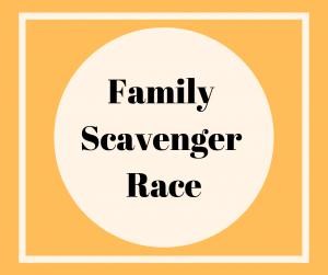 Family Scavenger Race