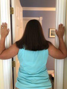 doorway stretch for hand numbness